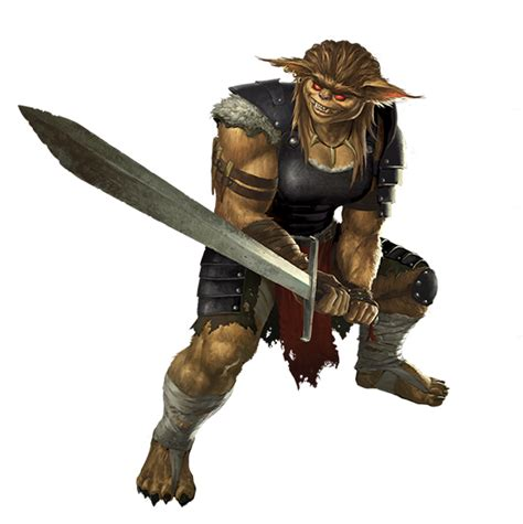 Bugbear Thug - Monsters - Archives of Nethys: Pathfinder