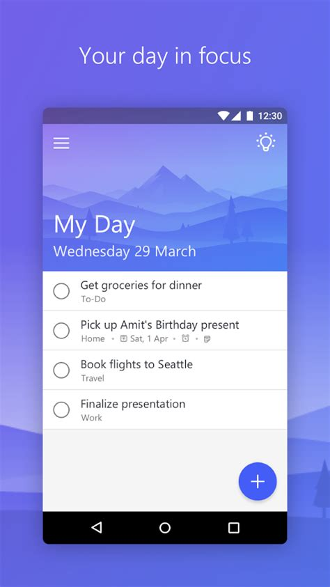 Microsoft To-Do » Apk Thing - Android Apps Free Download