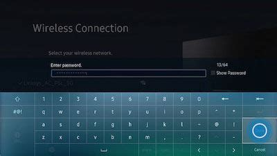 Connect to a Wi-Fi Network on Your 2016 Smart TV (UN**K****)