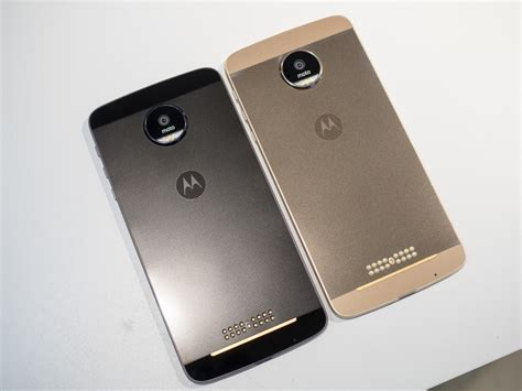 Moto Z and Moto Z Force Droid Edition — what's the
