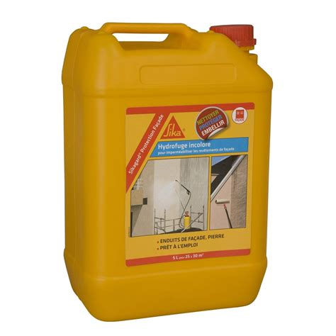 Imperméabilisant SIKA Sikagard 5 l incolore | Leroy Merlin