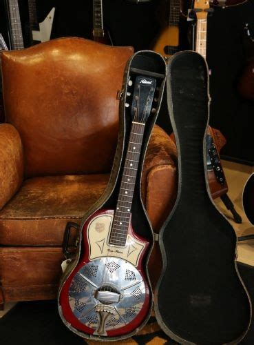 National Reso Phonic Red de 1958 | Guitare Collection