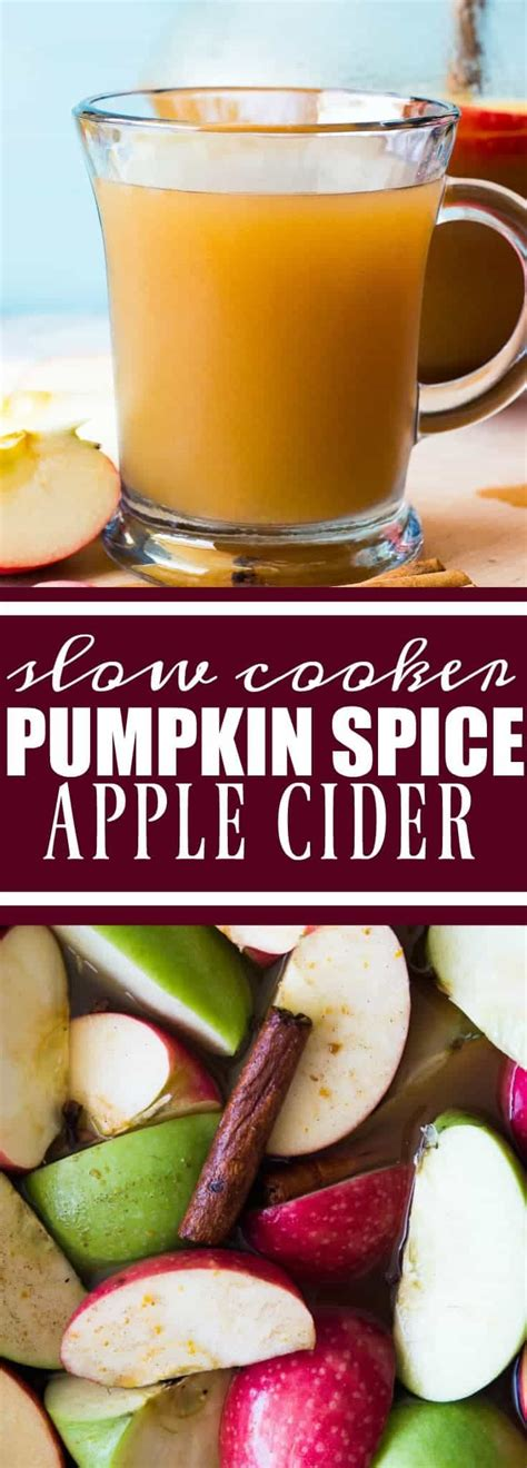 {Slow Cooker} Pumpkin Spice Apple Cider - House of Yumm