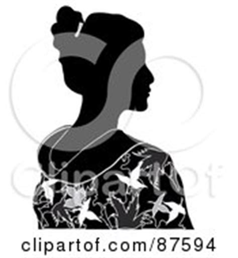 Royalty Free Stock Illustrations of Geishas by Pams