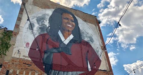 New Michelle Obama Mural In Chicago Aims To Capture Former