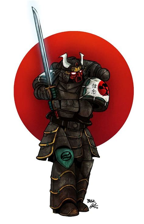 japanese space marine - Google Search   Raven Guard