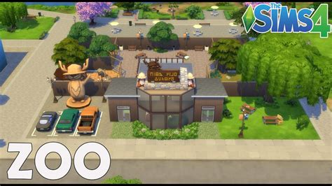 Les Sims 4 : Zoo / Construction - Speed Build - YouTube